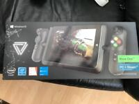 """Lynx ,windows 10 8"""" gaming tablet and cradle"""