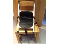 Handi sit booster chair