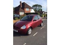 FORD KA 10 months MOT excellent condition inside and out- NEW clutch & battery