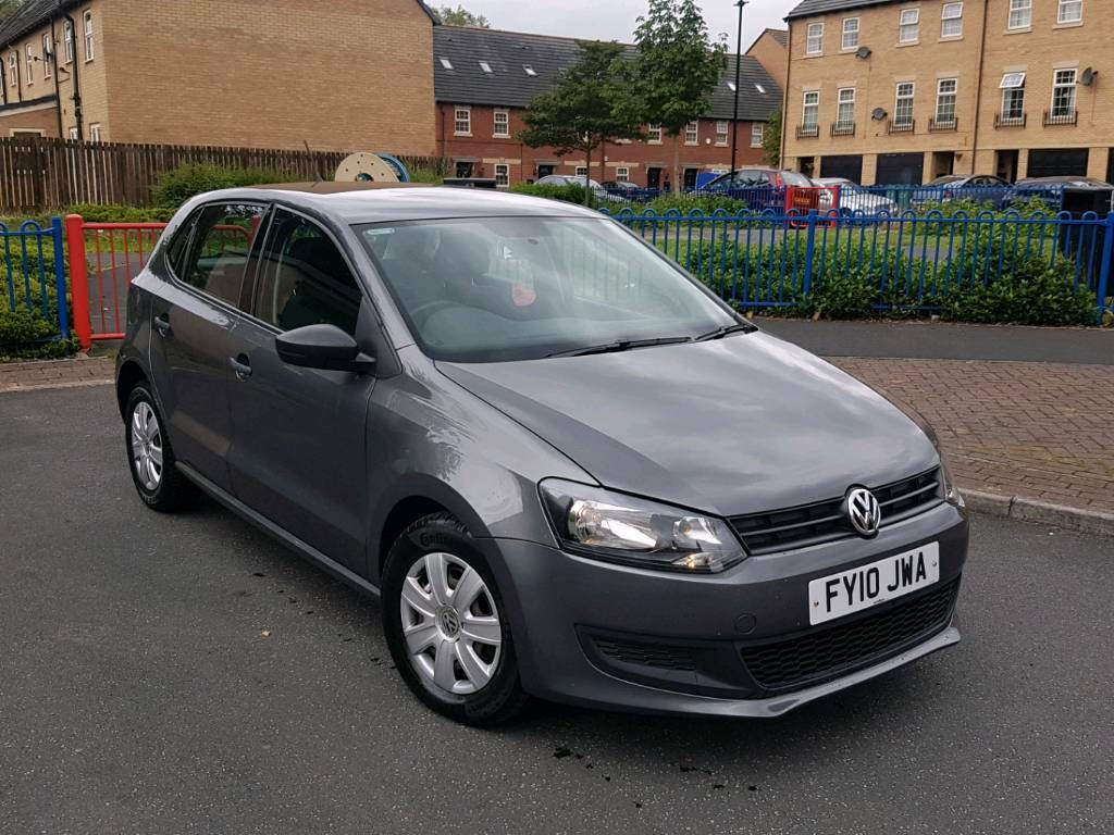 2010 volkswagen polo 1 2 s manual 5 door grey 1 owner f s h hpi clear new shape in dewsbury. Black Bedroom Furniture Sets. Home Design Ideas