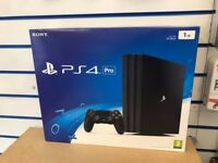 SONY PLAYSTATION 4 PRO 1TB BRAND NEW SEALED WITH WARRANTY AND RECEIPT