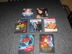 DVD 700 films + 350 Blu-Ray originaux aucunes copies