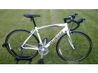AS NEW / UNMARKED / RODE LESS THAN 10 MILES SPECIALIZED ALLEZ SPORT TRIPLE ROAD BIKE