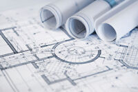 Commercial - Architectural, Structural, Interior permit drawings