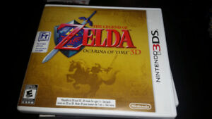 Nintendo 3DS Legend Zelda Ocarina of Time 3D 3ds