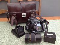 Mamiya 645j medium format camera system