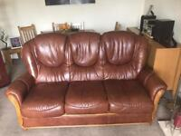 3 Piece Suite( 3 seater and 2 chairs) Sterling Furniture