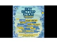 BBK TAKEOVER TICKETS X2 SEATED SELLING AS PAIR!!