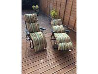 Garden recliners