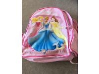 Small Disney princess rucksack