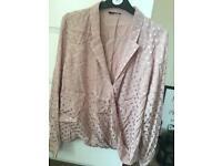 Blush coloured blouse
