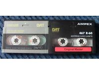 DIGITAL AUDIO (DAT) CASSETTES