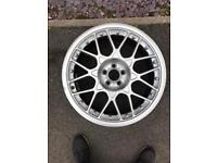 "Genuine Audi TT BBS Split Rim Alloy Wheel RS2 18"" VW Skoda Seat VGC"
