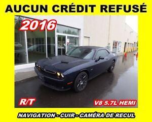 2016 Dodge Challenger **R/T**intérieur rouge,Toit ouvrant,Naviga