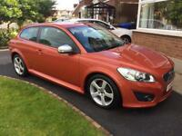 2010 Volvo C30 D2 R-Design **** 73kmiles, low tax***** not A3 1series civic