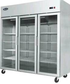 3 door chiller fridge