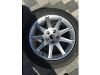 "17"" Audi A6 Alloy BRAND NEW with Tyre"