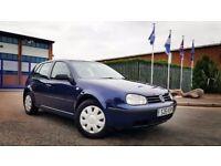 2003 Volkswagen Golf 1.9 TDI PD 5 Door Hatchback Long MOT Cheap Turbo Diesel Car Passat Bora Jetta