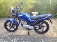 Yamaha YBR 125 nice bike all ready to go