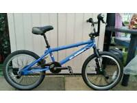 RUPTION BMX BIKE WITH 360 GYRO & 4 TRICK NUTS COST OVER £200 WHEN NEW!!!