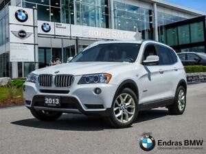 2013 BMW X3 xDrive28i Technology and Premium Package