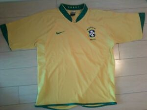 2006 Nike World Cup Brazil replica soccer jersey for sale