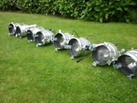 Joblot 8 Theatre Lights Par cans Par 64 f Stage Lighting