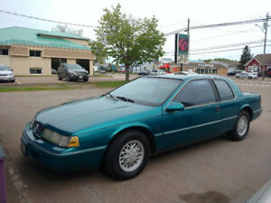 1993 Mercury Cougar Coupe (2 door) new plates ,new inspection.