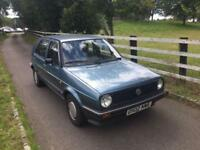 1986 Volkswagen GOLF CL 4+E 1.6 - ONLY 1 OWNER FROM NEW!!! CLASSIC INVESTMENT