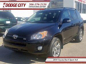 2010 Toyota RAV4 Sport 4x4 **PST PAID**