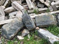Dressed Granite building corner stones and lintels