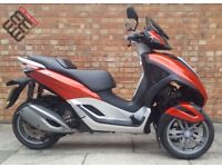 Piaggio MP3 300cc LT Sport (16 REG), Immaculate Condition, low Mileage!