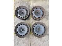 """Peugeot 308 15"""" steel wheels 4 X"""