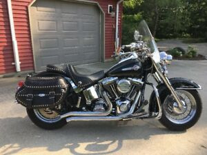 2004 Harley Heritage $9,750 certified - will store till spring!!