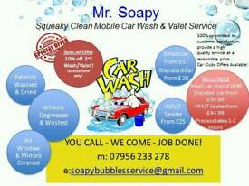 Mr.Soapy Mobile Car Wash & Valet in East London.Cheap & Reliable