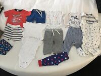 Bundle of baby boy's clothes 9-12 months