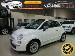 2015 Fiat 500C Lounge LOUNGE| CONVERTIBLE| LEATHER