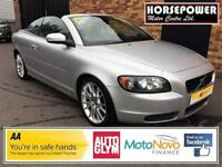 2007 Volvo C70 2.4 D5 SE Lux Geartronic 2dr Diesel silver Automatic