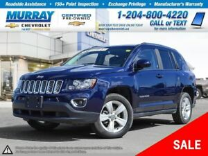 2016 Jeep Compass Sport/North *Leather Seats, All Wheel Drive*