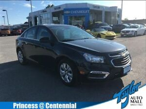 2016 Chevrolet Cruze Limited LT 1LT  FWD One Owner