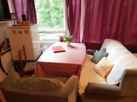 Hammersmith Twin Room for 2 Friends in Flat Share