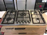 Stainless Steel Large 90cm Gas Hob