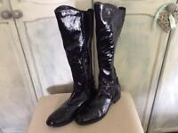 Cara Ladies Leather Boots NEW
