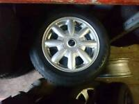 Mini alloy wheels only. tyres are not included