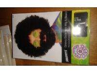 Groovy dude afro wig