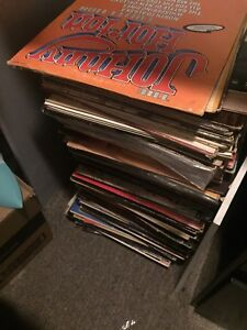 About 70 records for sale!
