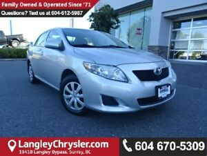 2009 Toyota Corolla CE w/ POWER GROUP & AIR CONDITIONING