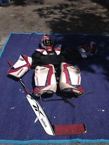 Équipement de hockey pour gardien de but (pour jeunes)