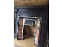 Stovax Cast Iron Traditional Fireplace (wooden mantelpiece thrown in)