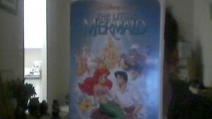 The Little Mermaid on VHS